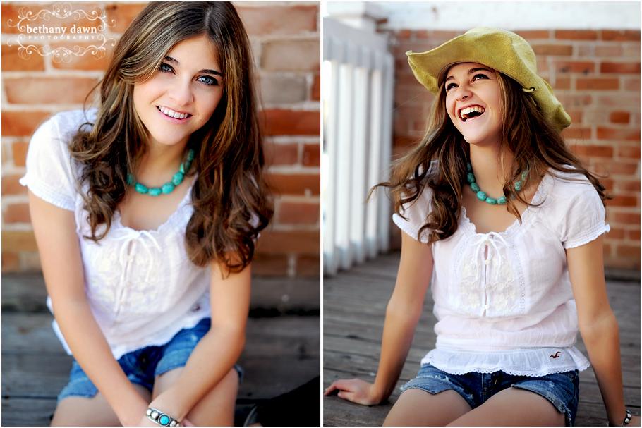 teen model Dawn