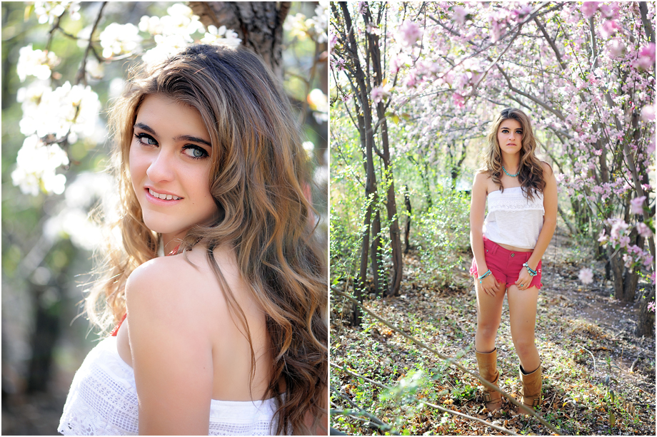 Spring Senior Session Albuquerque NM